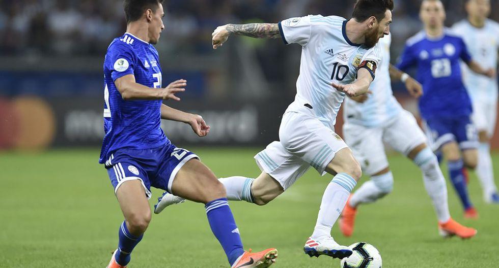 Argentina vs. Paraguay: Copa América. (Foto: AFP)