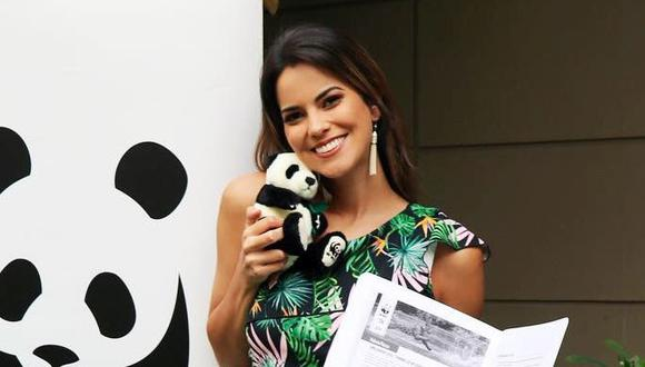 Valeria Piazza es embajadora de la organización mundial de la conservación de la naturaleza WWF Perú. (Foto: Difusión  / WWF)