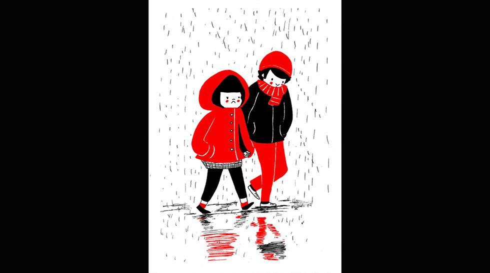Los pequeños detalles de una relación retratadas en dibujos - 8