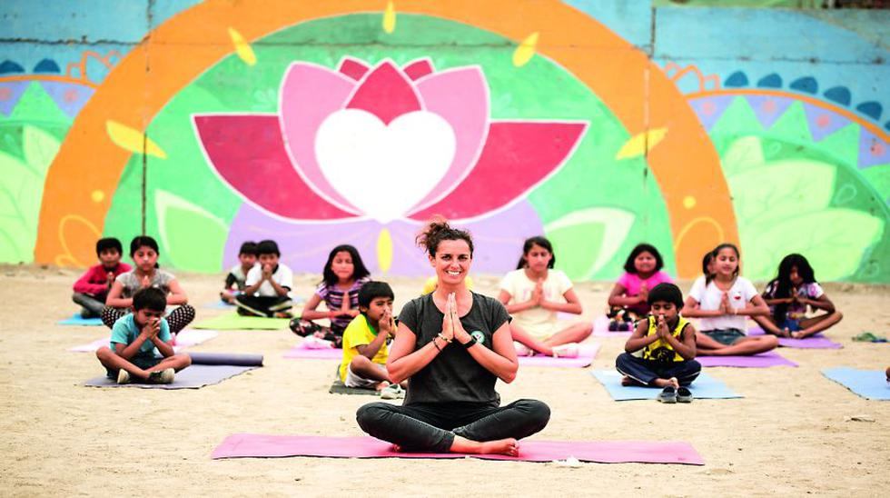yoga niños Manchay
