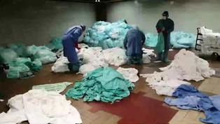 Trabajadores invisibles que sostienen la lucha contra la pandemia en México