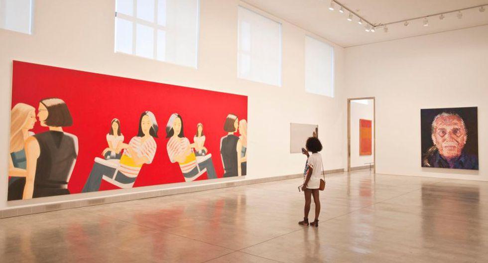 """El museo dijo que la obra reivindicaba """"la búsqueda del placer por parte de la mujer en sus propios términos"""". La imagen fue subida nuevamente. (Foto: Facebook)"""