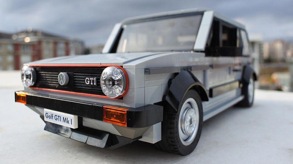 El famoso Volkswagen Golf GTI en versión Lego [FOTOS] - 1