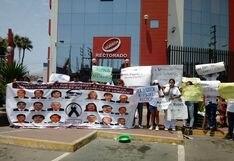 Áncash: estudiantes de la Uladech de Chimbote piden renuncia de rector