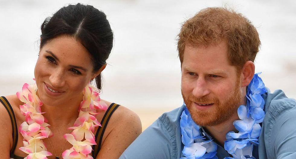 Netflix revela su interés en trabajar con el príncipe Harry y Meghan Markle (Foto: AFP)