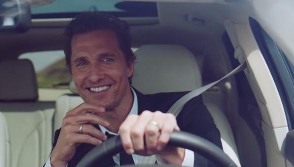Matthew McConaughey es nueva imagen de Lincoln