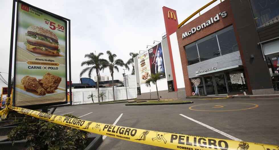 La tragedia en el McDonald's de Pueblo Libre fue ocasionada, según las pericias, por una máquina de gaseosas en mal estado (Foto: César Grados/GEC).
