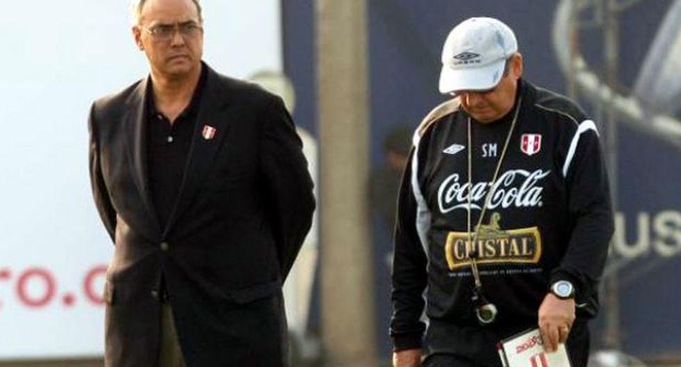 Manuel Burga admite que Sergio Markarián no volverá al Perú