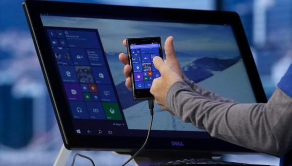 Continuum, la opción que convierte un smartphone en una PC