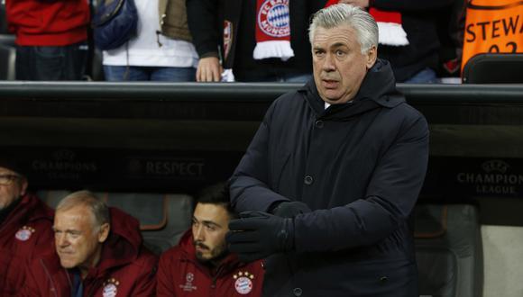 Técnico: Carlo Ancelotti. (Foto: AFP/AP/Reuters)