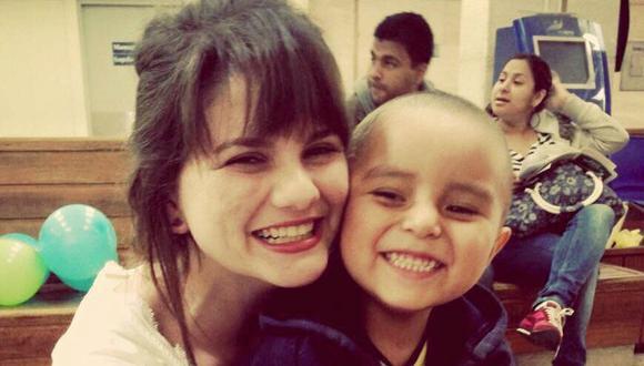 Camila Cantuarias fue voluntaria del INEN (Foto: Archivo personal)