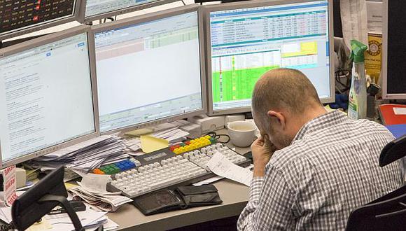 Los mercados de Europa registraron pérdidas superiores a 1% este jueves. (Foto: Bloomberg)