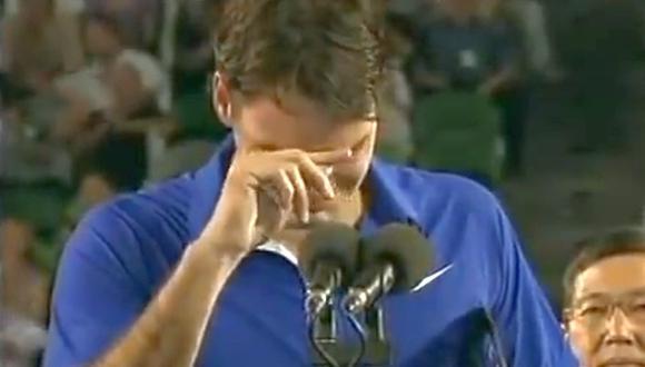 Nadal hizo llorar a Federer hace cinco años en Australia