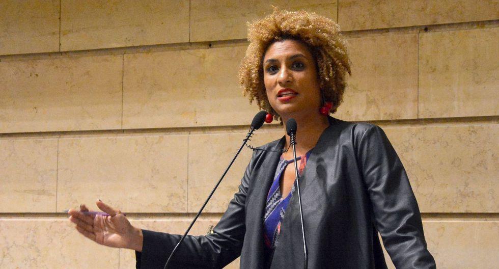 Marielle Franco: la mujer brasileña negra, lesbiana, madre y pobre cuyo brutal asesinato ha sido relacionado con Bolsonaro. Foto: AFP