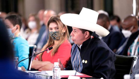 El presidente Pedro Castillo cumple una gira internacional por México y Estados Unidos, la cual se extenderá hasta el 22 de septiembre | Foto: Presidencia Perú