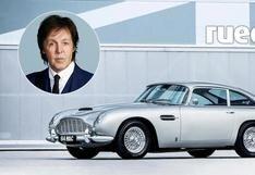 Paul McCartney cumple 78 años: el Aston Martin DB5 del músico cuando aún estaba en The Beatles