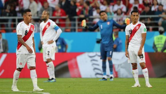 """""""Ante Chile, una selección que hoy está en el segundo o tercer nivel de Sudamérica, Perú comprobó que para el técnico y el grupo el Mundial no era un objetivo final, sino una etapa a cumplir"""". (Foto: AFP)"""
