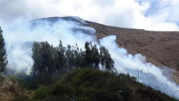 incendio forestal pasco