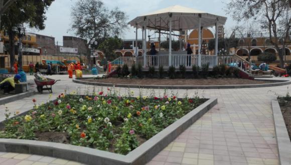 Pachacámac: renuevan Plaza de Armas y celebran fiesta patronal