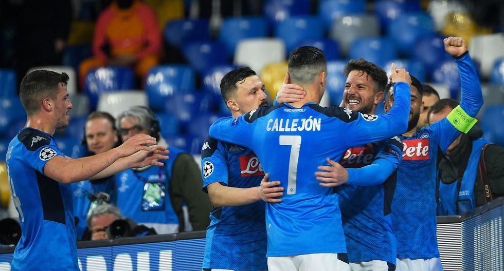 Barcelona vs. Napoli: las mejores postales del duelo en San Paolo de Champions League. (Foto: Agencias)