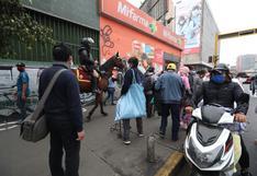 Coronavirus en Lima: ambulantes intentaron invadir otra vez las avenidas Manco Cápac y Grau   FOTOS