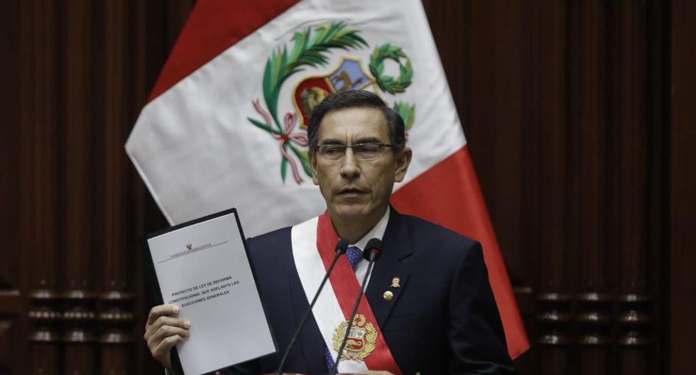 Acción Popular propone mesa de diálogo por propuesta de Martín Vizcarra. (Foto: GEC)
