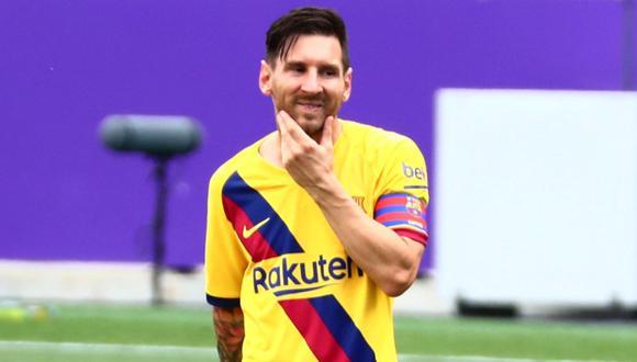 Lionel Messi fue relacionado con el Inter de Milán, según medio italiano.(Foto: Reuters)