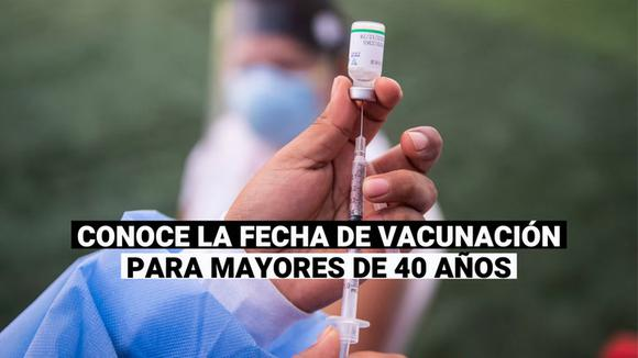 Minsa: Citizens over the age of 40 will also be vaccinated from 24 July