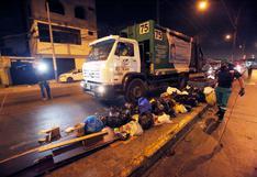 Callao: inician recojo de basura, pero extrabajadores de limpieza vuelven a frustrar labores | FOTOS