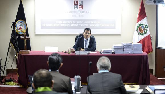 Juez Jorge Chávez está a cargo de investigación preparatoria sobre caso Arbitrajes. (Foto: Mike Yovera)
