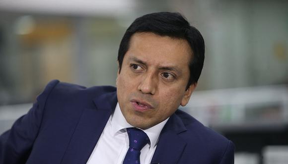 Gilbert Violeta es el presidente del partido de gobierno, Peruanos por el Kambio. (Foto: El Comercio)
