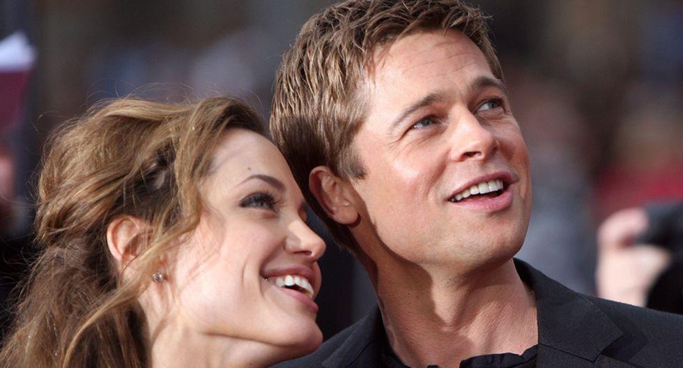 Angelina y Brad en 20 fotos que retratan sus momentos felices - 1