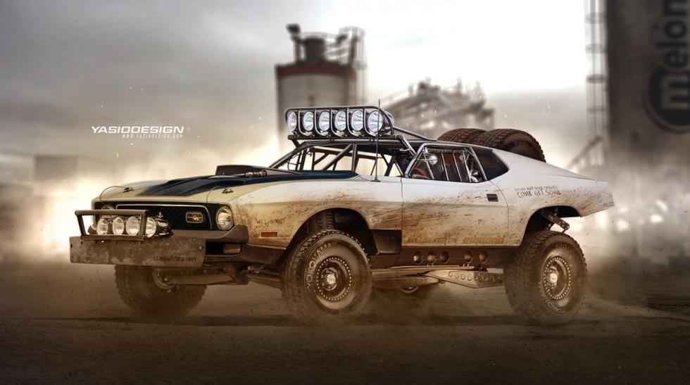 Diseñador inglés le da un estilo Mad Max a conocidos autos - 6