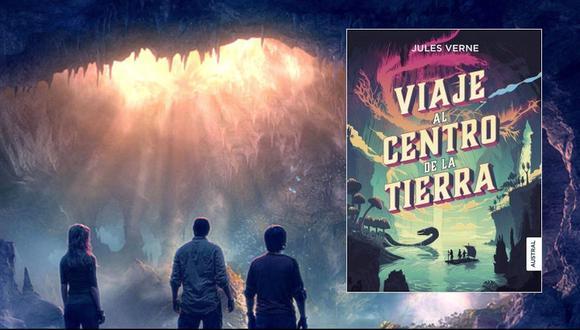 Viaje al centro de la tierra, una de las obras cumbre Julio Verne.
