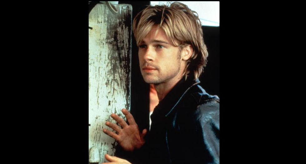 """En 1997, Pitt trabajó junto a Harrison Ford, al personificar al terrorista del IRA Rory Devany en """"The Devil's Own"""", la primera de muchas películas en las que Pitt utilizó un acento irlandés. (Foto: Difusión)"""