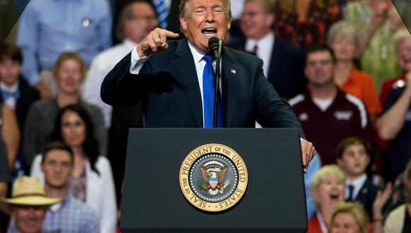 La Casa Blanca minimiza las burlas de Donald Trump a la mujer que acusó de abuso sexual a Brett Kavanaugh. (EFE)