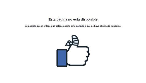 De esta manera podrás saber si alguien te bloqueó en Facebook. (Foto: Facebook)