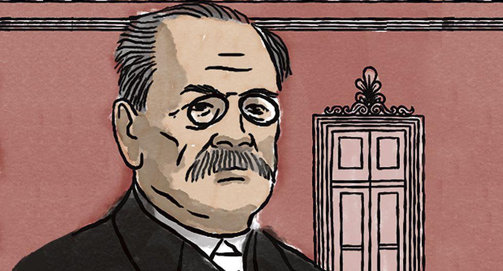 1919: Homenaje a Ricardo Palma (Ilustración: Víctor Aguilar)