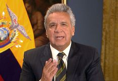 """Ecuador: Moreno acusa a Maduro y Correa de """"violencia nunca antes vista"""" en Quito"""