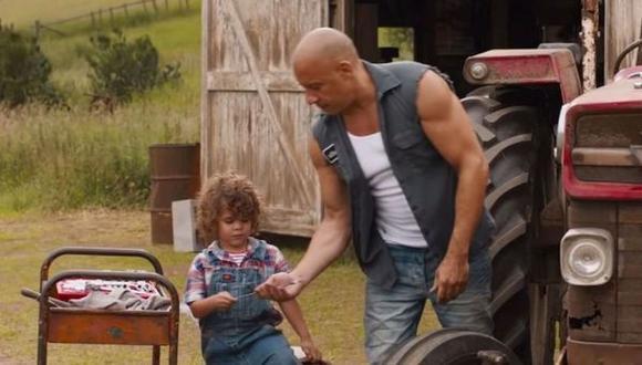 Vincent Sinclair, el hijo de Vin Diesel, aparecerá en la novena película de la renombrada 'The Fast Saga' interpretando a la versión infantil de Dom (Foto: Universal Pictures)