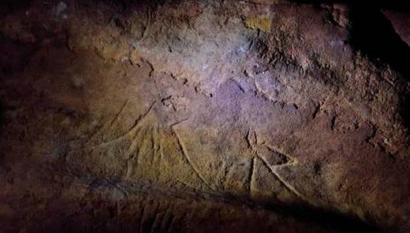 Los grabados se crearon sobre una capa de limos arenosos blandos. (EFE)