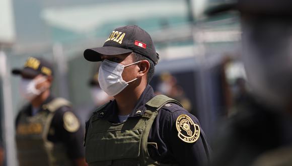 La Libertad: 1,200 policías vencen al COVID-19 y vuelven a combatir contra la pandemia y delincuencia. (Foto: GEC)