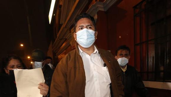 El exgobernador regional de Junín Vladimir Cerrón también afirmó que Roger Nájar es la propuesta de Perú Libre para encabezar la PCM. (Foto: El Comercio)