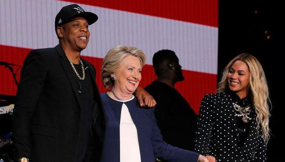Clinton aparece junto a Beyoncé y Jay-Z en Ohio [VIDEOS]