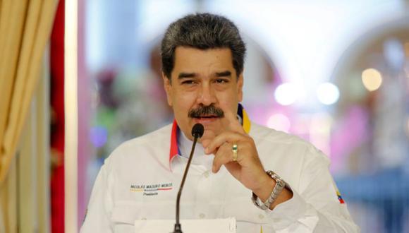 Nicolás Maduro en un acto gubernamental en Caracas, Venezuela. (Foto: EFE / EPA / Miraflores prensa).