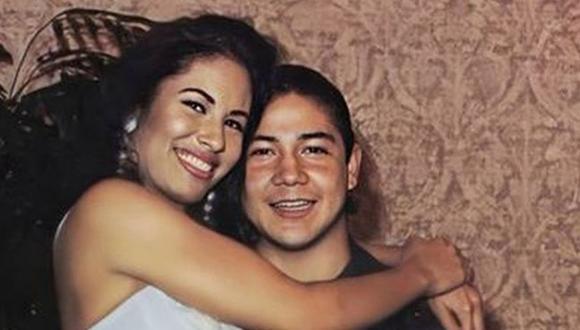 Selena Quintanilla y Chris Pérez se casaron a escondidas, pero su matrimonio solo duró tres años (Foto: @SelenaQperez92 / Twitter)