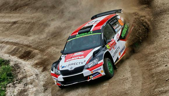 WRC: Nicolás Fuchs se ubica segundo en Portugal