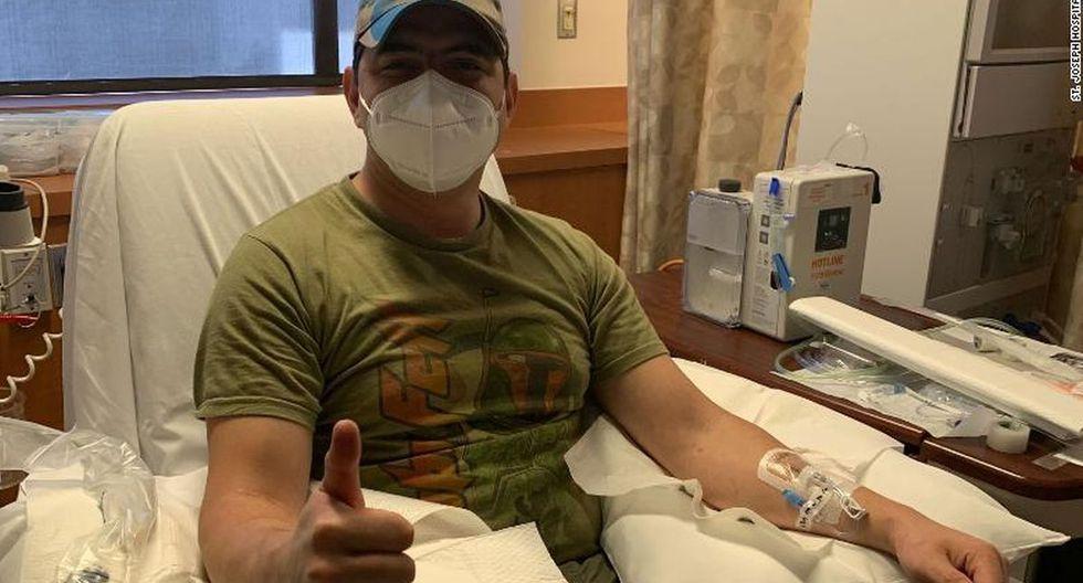 Coronavirus Estados Unidos | Ultimas noticias |Jason García, ingeniero aeroespacial de 36 años. (Foto: St. Joseph Hospital) | California | Covid-19