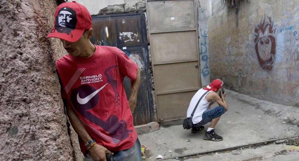 Venezuela es uno de los países más violentos del mundo. El 2018 terminó con una tasa de homicidios de 81,4 homicidios por cada 100 mil personas. (AP).