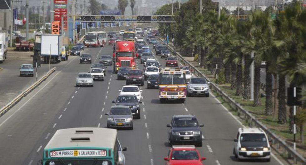 Mañana se restringe el tránsito en la Panamericana Sur